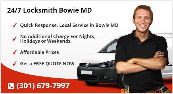 24 Hour Locksmith Bowie MD